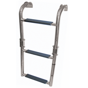 3 step stainless steel boat boarding ladder