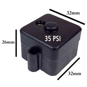 Escaping Outdoors 12v diaphragm pressure pump 35PSI pressure switch