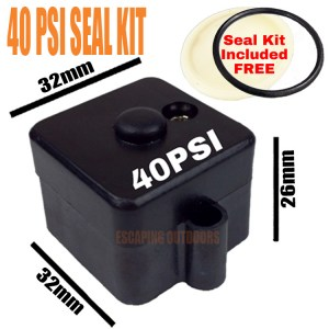 Escaping Outdoors 12v 24v 240v FL water pump 40psi pressure switch