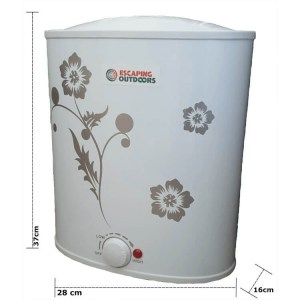 Escaping Outdoors 7 litre compact electric hot water heater to suit coffee carts