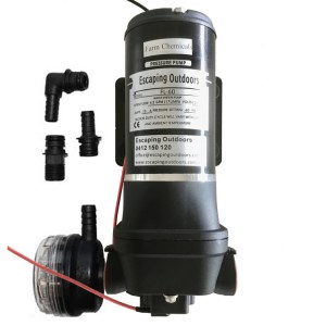 Escaping Outdoors FL60CBP diaphragm pressure pump with chemical seals