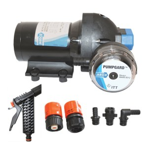 Jabsco J20-138 12v boat deck wash pump kit