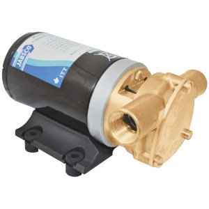 Jabsco J40-111 24v commercial bilge pump brass puppy