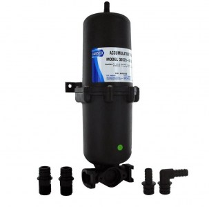 Jabsco accumulator tank pressure tank for 12v and 24v water pumps one litre - Escaping Outdoors