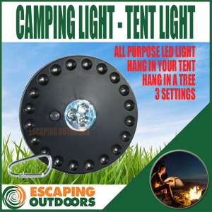 LED camping tent light mood light with 3 settings