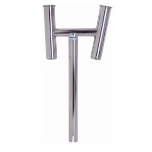 Manta stainless steel dual rod holder