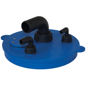 Nuova Rade rigid poly storage tank lid for water