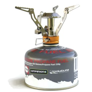 Portable gas mini camping and hiking stove