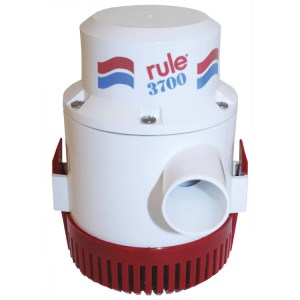 Rule 3700 24v marine grade bilge transfer pump