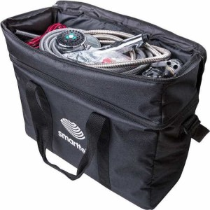 Smarttek hot water system black carry bag for camping shower - Escaping Outdoors