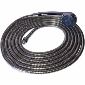 Smarttek twist shower rose and 5m hose for camping showers - Escaping Outdoors