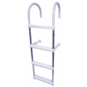 Trem anodised aluminium 4 step boat ladder