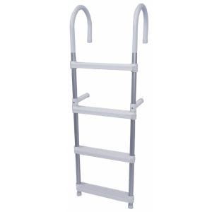 alloy and plastic 4 step boat boarding ladder
