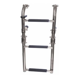 narrow stainless steel boat boarding ladder