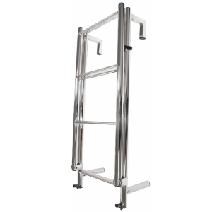 stainless steel boat ladder yacht toe rail ladder